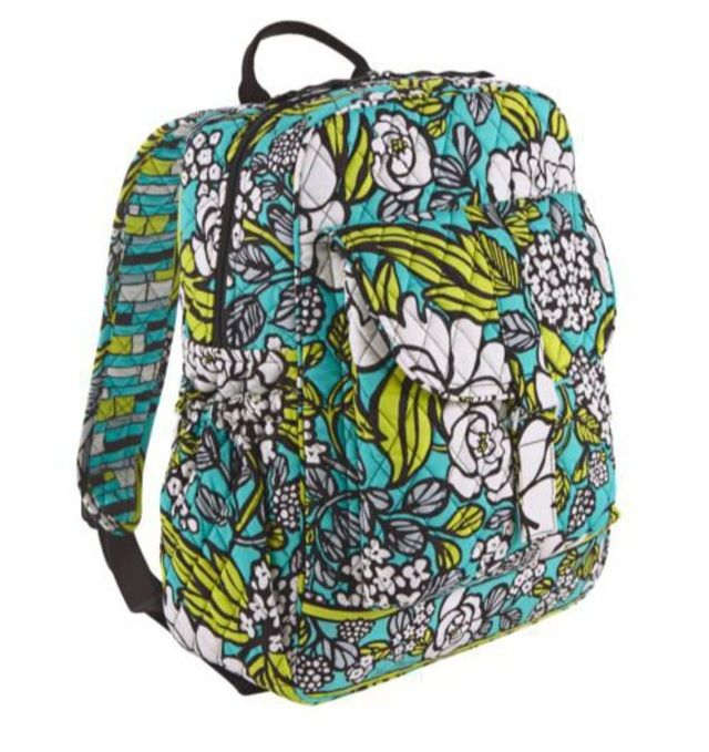 fd86fc045c29 I rarely want nice, expensive things but I desperately want a Vera Bradley  backpack for