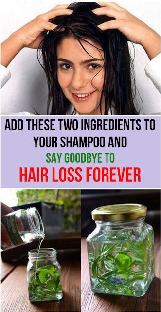 Add These Two Ingredients To Your Shampoo And Say Goodbye To Hair Loss Forever