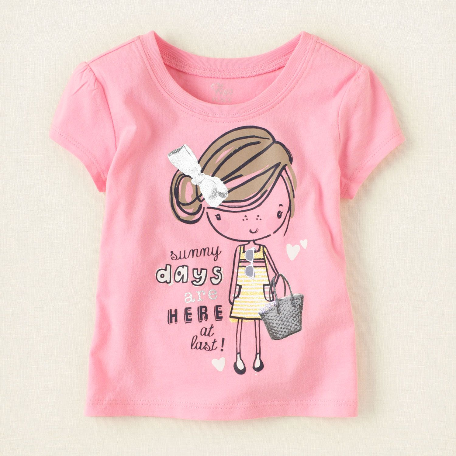 New The Children/'s Place Girls Newborn to Toddler Tops /& Shirts