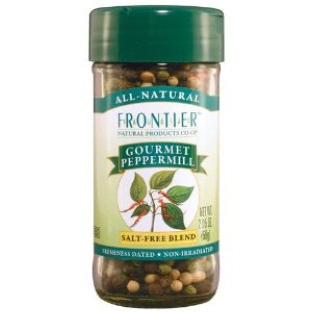 I'm learning all about Frontier Naturals Peppermill Gourmet Blend Seasoning at @Influenster!