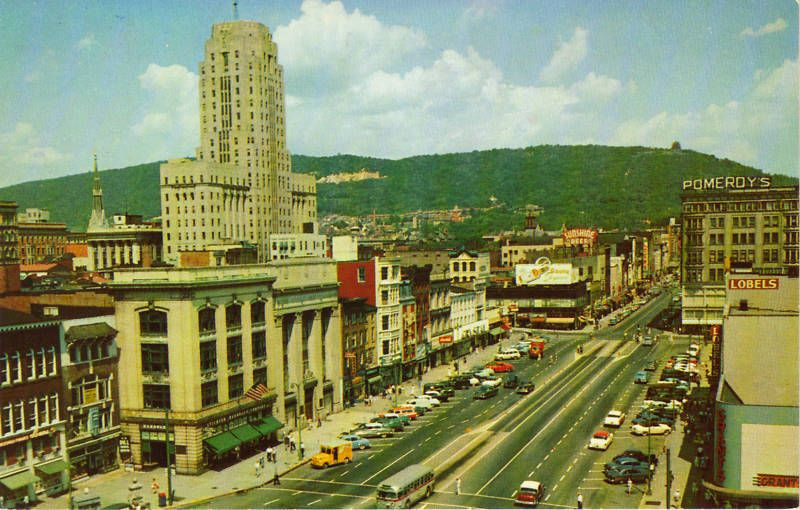 Penn Square In The 1950 S Hometown Reading Pa Reading