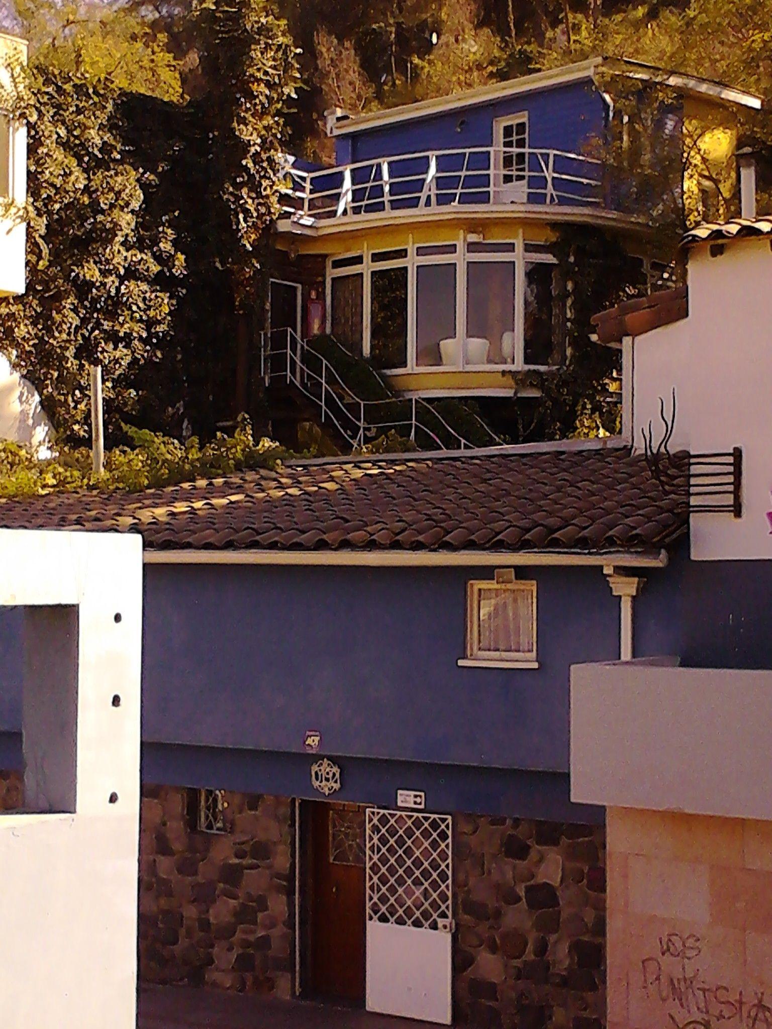Casa  de Pablo Neruda , Santiago..