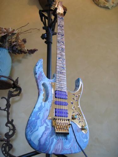 Ibanez Jem 777vmmv universe custom - guitarras__rock | Instrumente ...