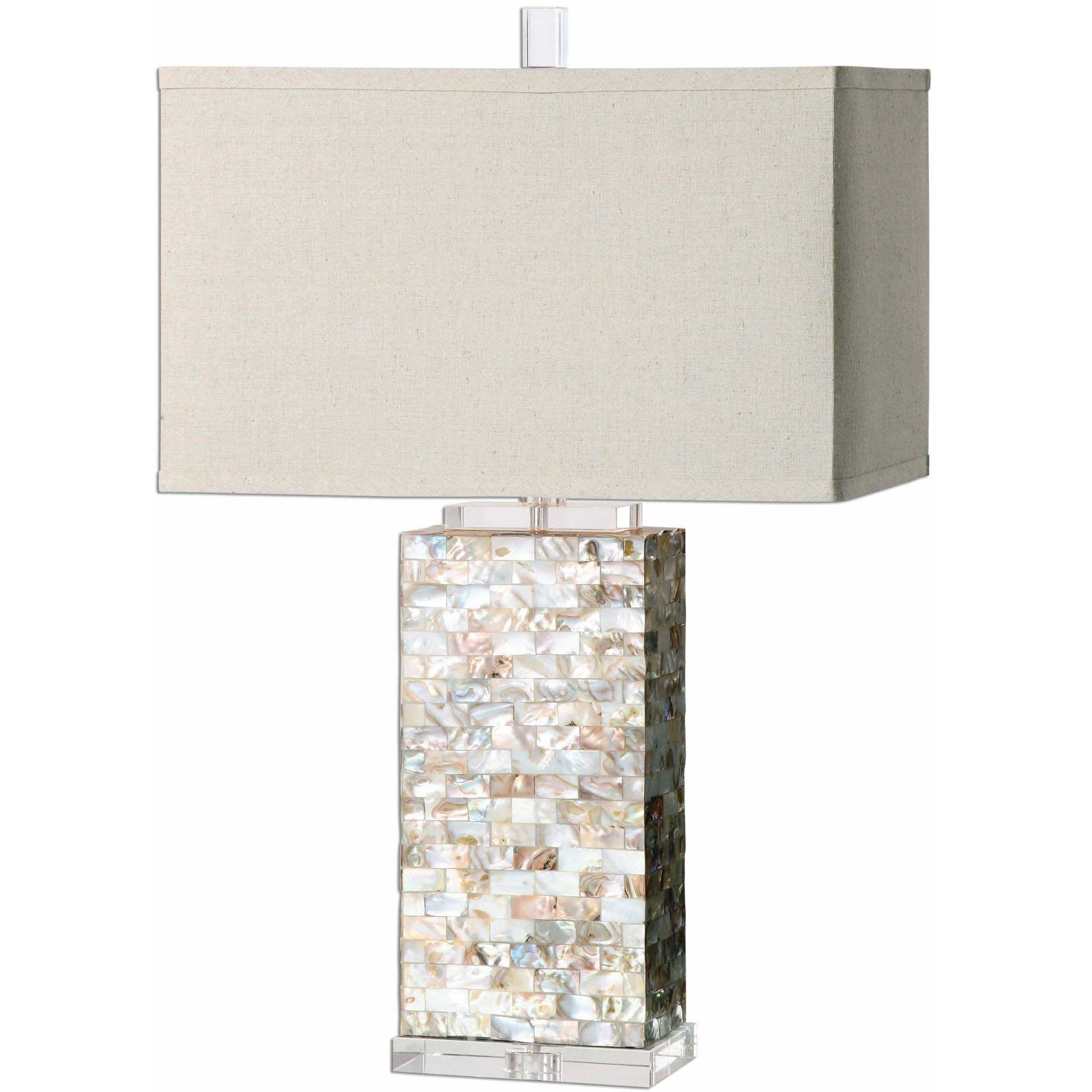 Uttermost 27026 1 aden capiz shell table lamp products uttermost 27026 1 aden capiz shell table lamp aloadofball Images