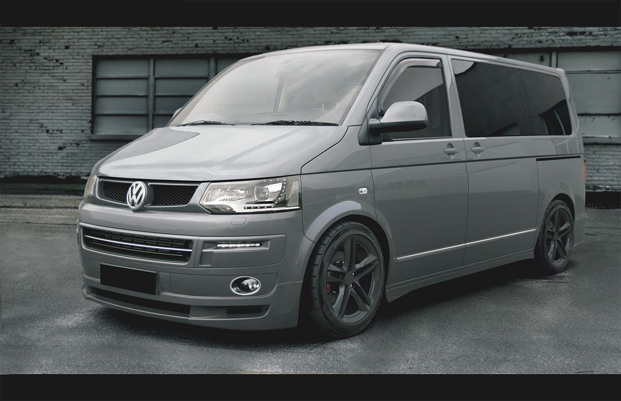 VW TRANSPORTER T5 SIDE SKIRTS SWB ABT LOOK made in UK in Vehicle ...