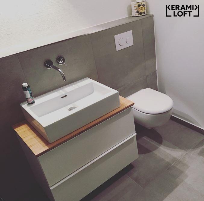 Kronos Ceramiche Prima Materia Cemento 60x60 Cm Auch In Xxl Formaten Wie 120x120 Cm Sowie 120x240 Cm Erha Badezimmer Dekor Badezimmer Badezimmer Einrichtung