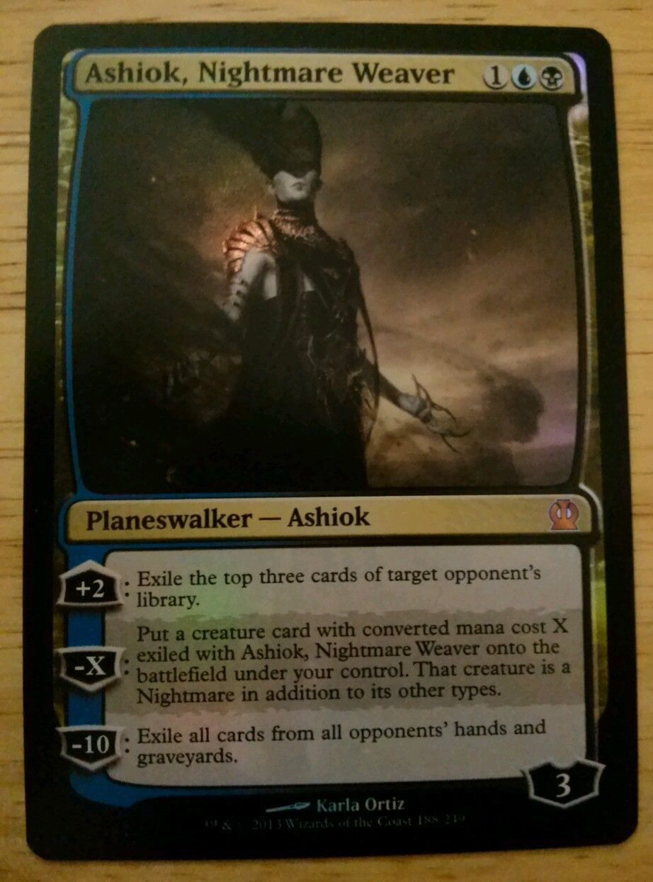 Ashiok Nightmare Weaver Mtg Theros Magic The Gathering