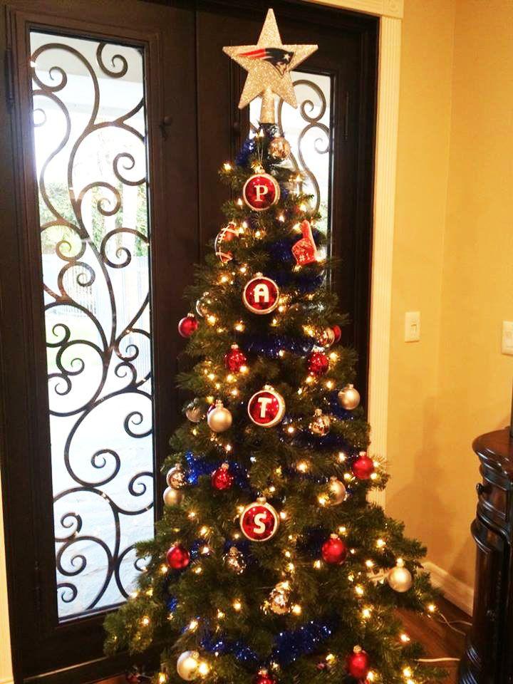 More Patriots Christmas tree inspiration! - More Patriots Christmas Tree Inspiration! Pats At Home Christmas