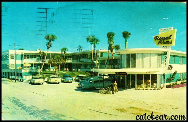Royal Arms Motel Daytona Beach Florida