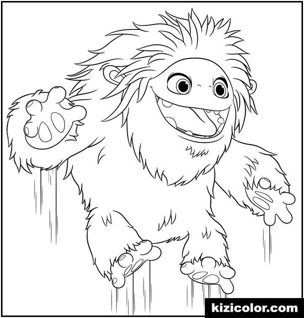 Missing Link Coloring Pages Display