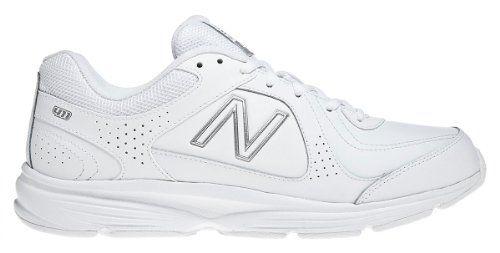 MW411 Health Walking Shoe,White