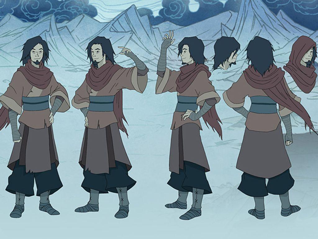 Avatar Last Airbender Character Design : Image gallery lok korra