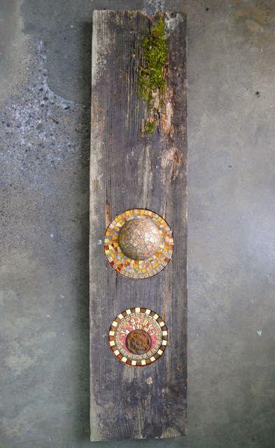 Mosaik und Holz / Bruno Rodi / www.mosaikhandwerk.de
