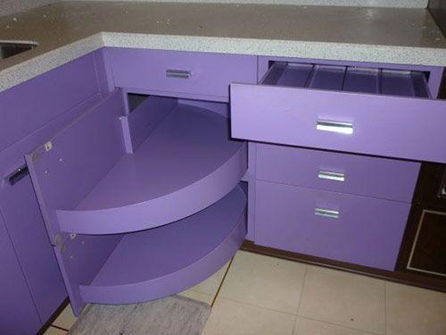 Purple And Walnut 1970 St Charles Metal Kitchen Purple Kitchen Purple Kitchen Cabinets Metal Kitchen