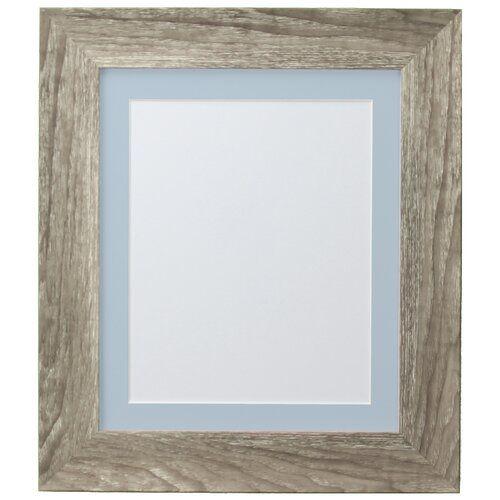 Photo of Stehrahmen Natur Pur Natur Pur Farbe: Graue Esche/Blau, Größe: 51 cm H x 38,7 cm B x 2,5 cm T, Bildergröße: 29,7 cm H x 21 cm B