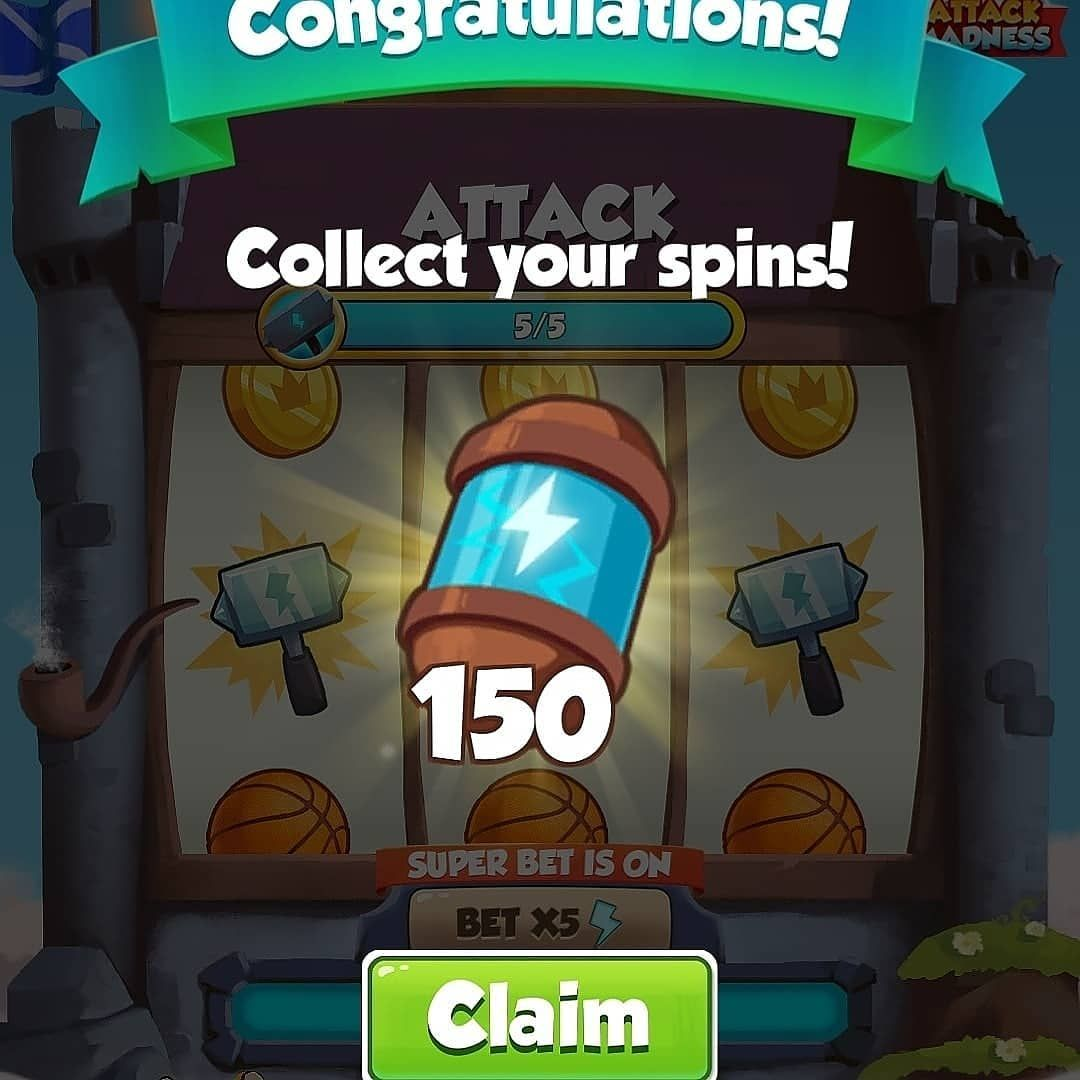 Coin Master Link Today Spins