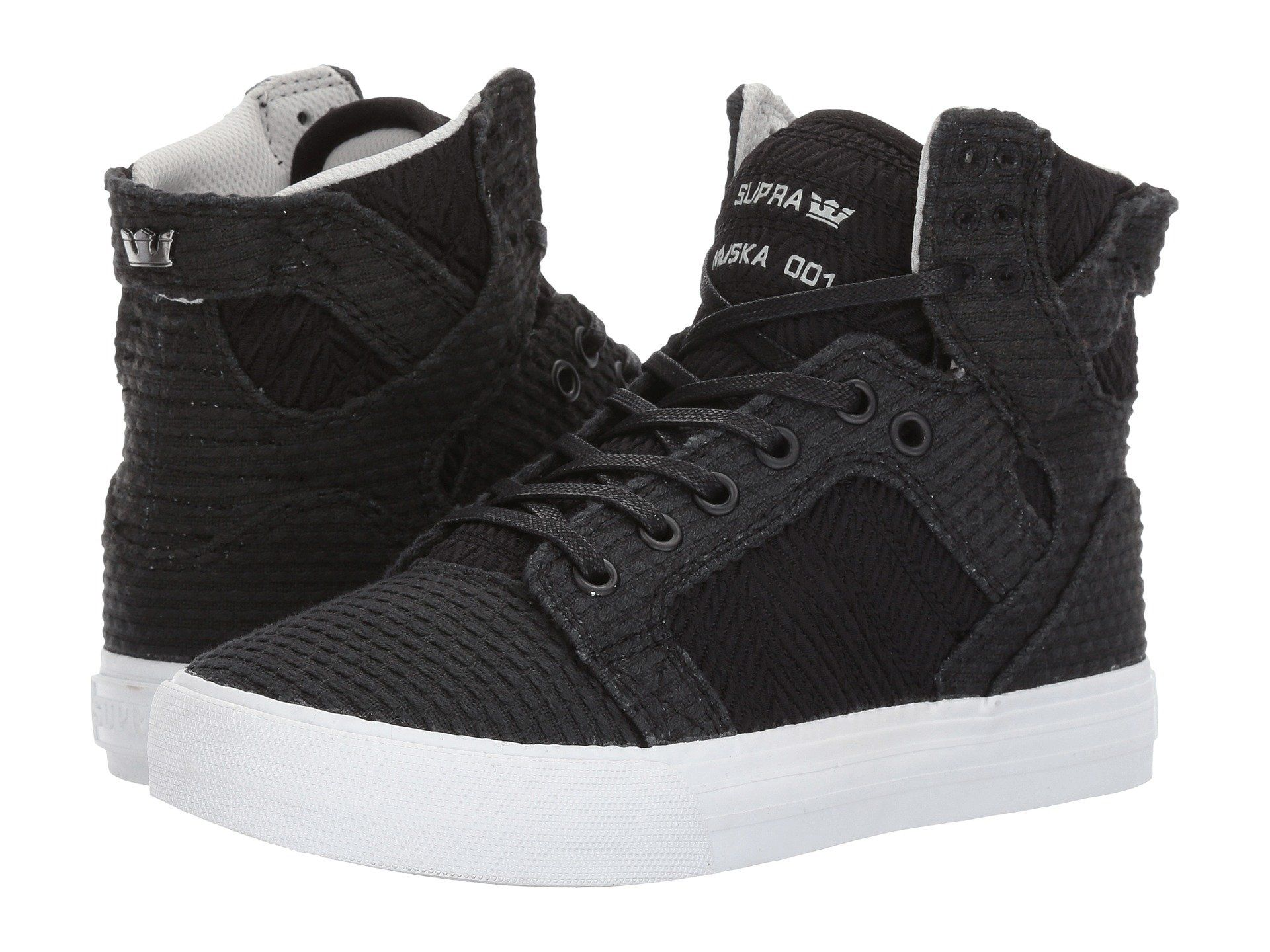 Mens Supra Men's Skytop Fashion Sneaker Retail Size 43