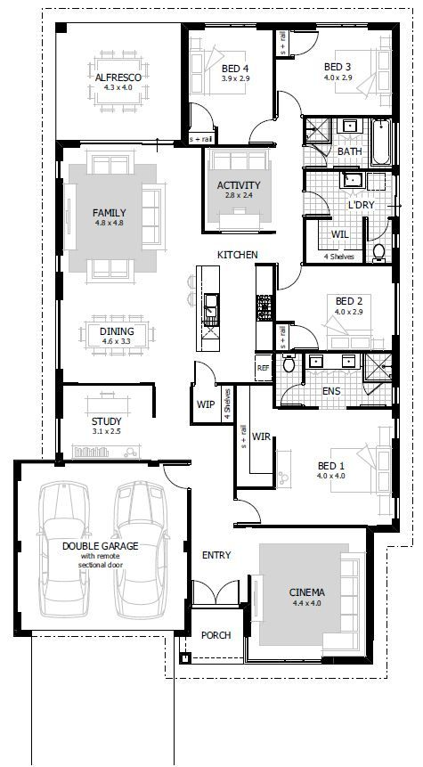 We have  huge selection of home designs available right across the perth metro area browse our online to see pricing inclusions and more also best ideas for house images floor plans dream rh pinterest