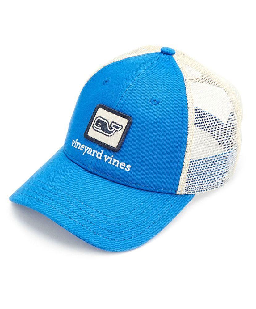 93370c8930e05 Vineyard Vines - Whale Patch Trucker Hat