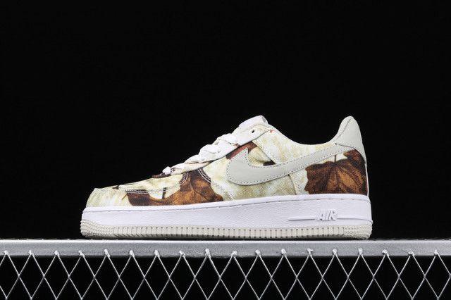 Womens Summer Shoes Nike Air Force 1 07 Lv8 Reflective Camo Ao2441