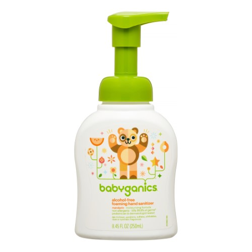 Gentle Hand Sanitizer That Wont Burn Little Hands Babyganics