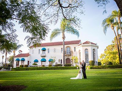 Muckenthaler Mansion In Fullerton An Orange County Wedding Reception Venue See Prices And Detailed Info For Beautiful Unique Southern California