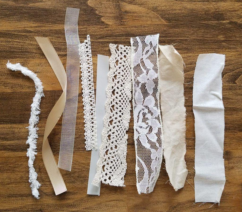 Photo of See How To Make A DIY Neutral Farmhouse Heart Rag Wreath