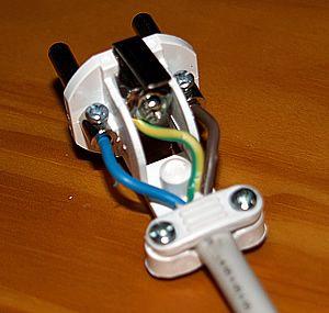 wiring a spanish plug spain info advice pinterest spanish rh pinterest com how do i wire a french plug wiring a french electrical plug
