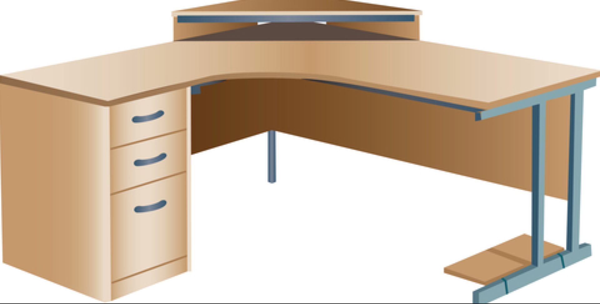 L Shaped Desks Don T Pose A Big Feng Shui Problem Although They Are Not Ideal The Important Thing Is To Ensure Tha L Shaped Desk Feng Shui Interior Decorating