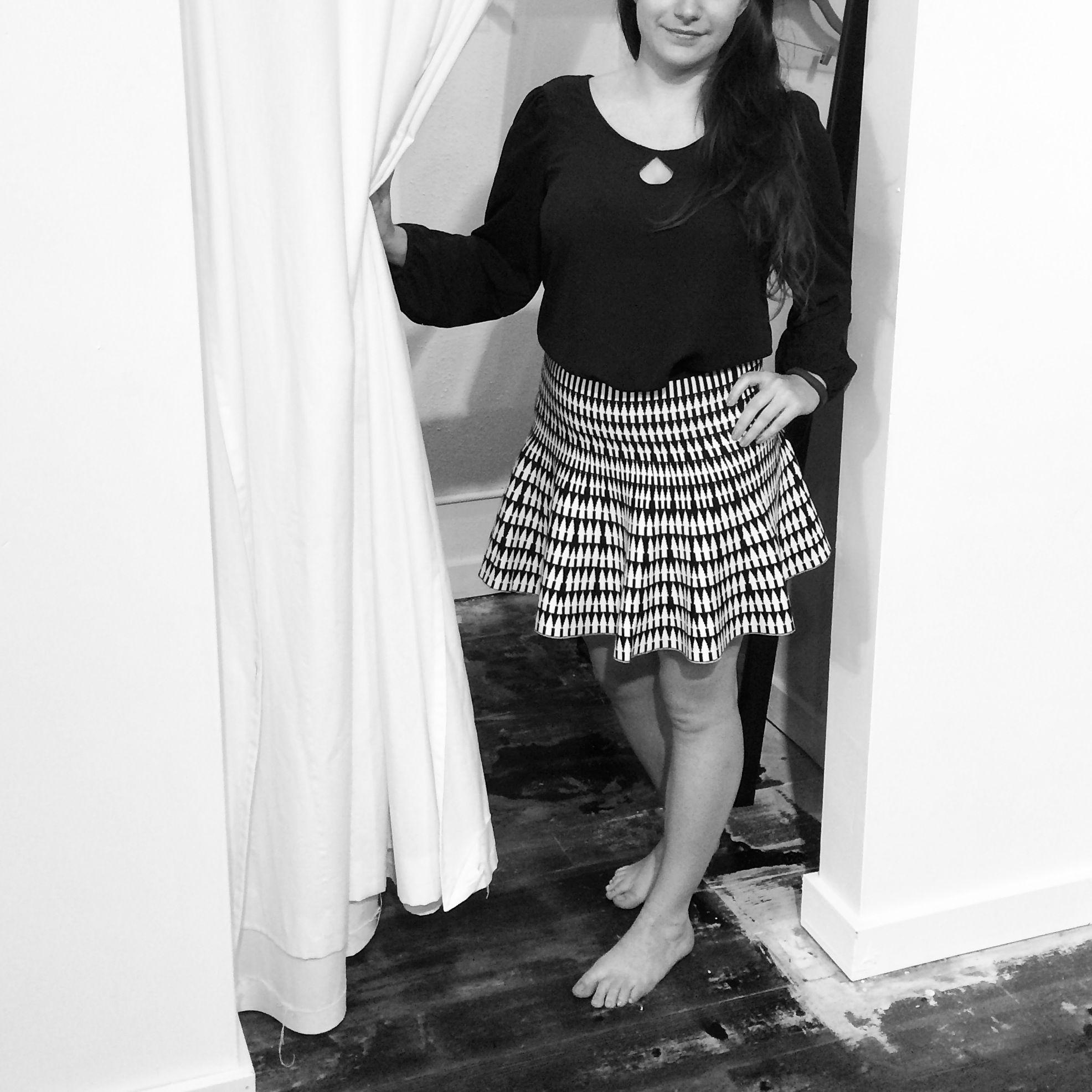 Jaleh 'Sophie' Keyhole Top   jalehclothing.com   #madeinUSA   #womensfashion