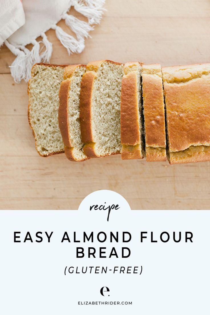 Easy Almond Flour Bread Recipe (Gluten-free)