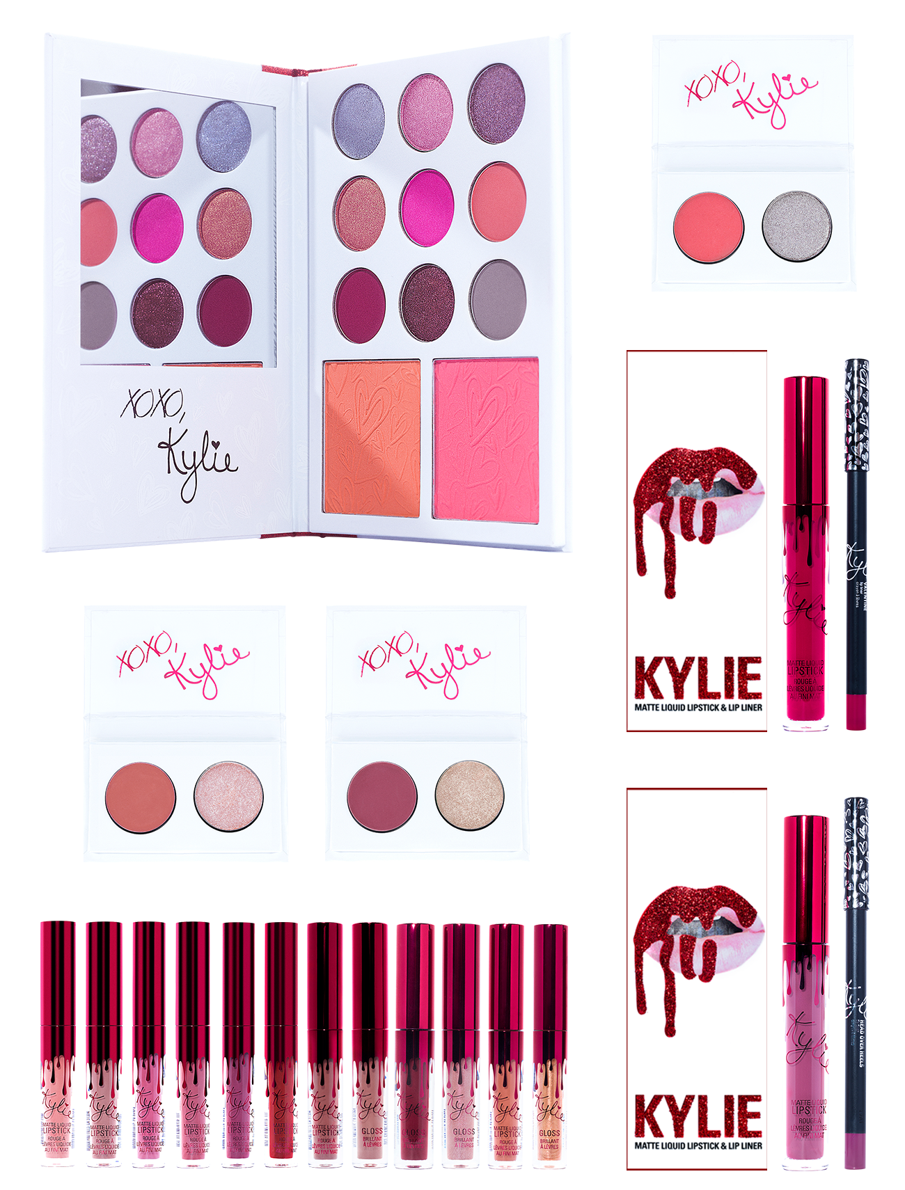 The Valentine's Collection Bundle Kylie Cosmetics℠ By