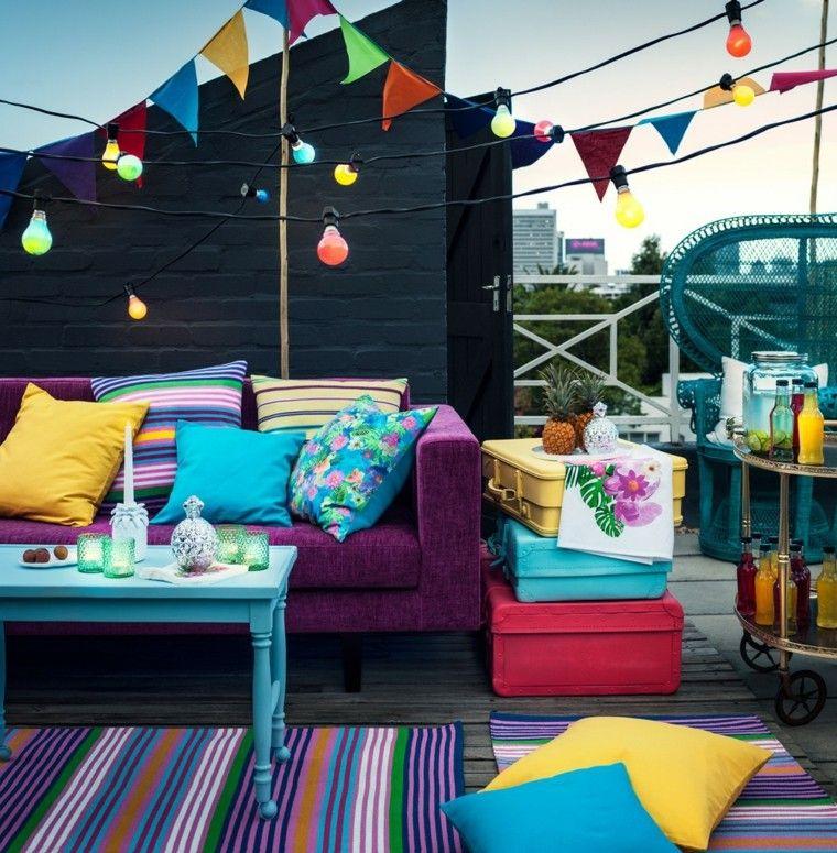 Party En El Jardin 50 Ideas Para Decorados De Fiestas Como Decorar El Patio Decoracion De Unas Fiesta En La Azotea