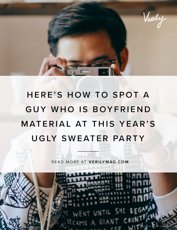 How to be boyfriend material