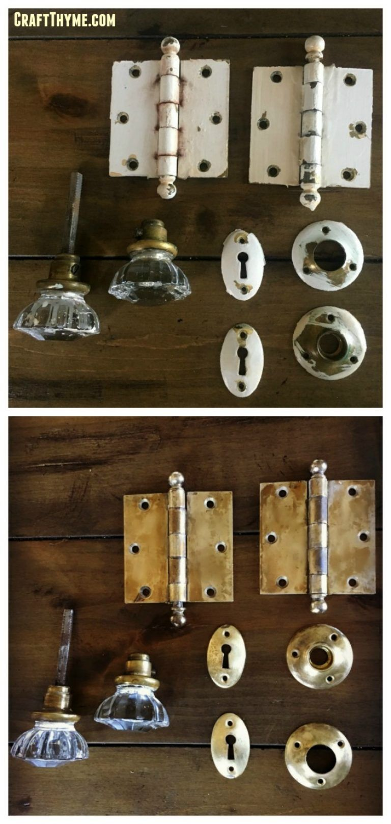How To Remove Paint From Brass Hardware Diy Limpieza Y