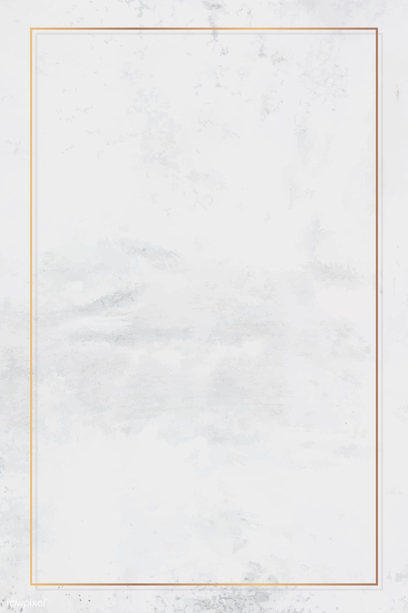 Download premium vector of Rectangle gold frame on white marble background vector by Ning about background, texture, frame, banner, and gold frames 1221652