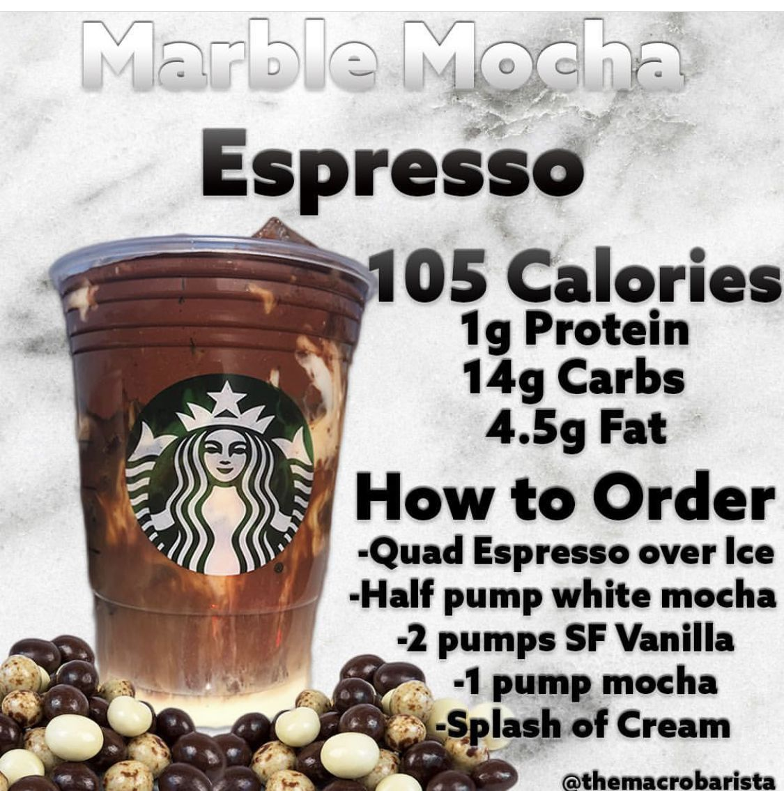 Pin by Amber Baldwin on LowCarb Starbucks drinks