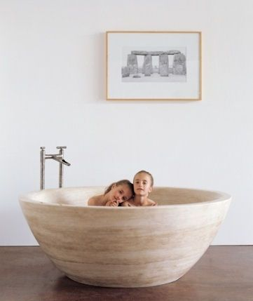 In By Stone Forest In Santa Monica, CA   Round Bathtub