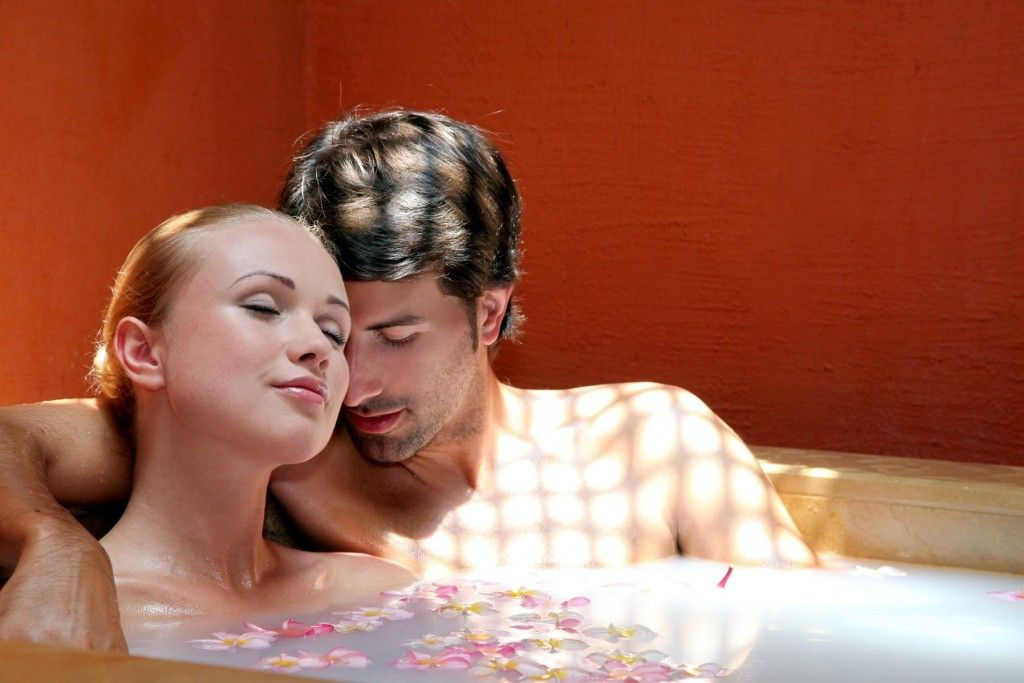 How taking a sacred couples bath can improve appreciation