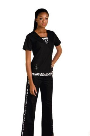 Cute...I want this! Baby Phat Scrub set.  Well I got it and sadly I dont look this good in it...lol