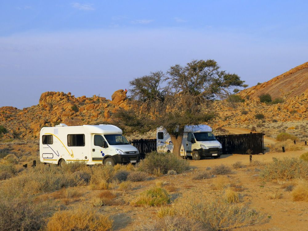 Camping holiday break with our Discoverer 4 berth
