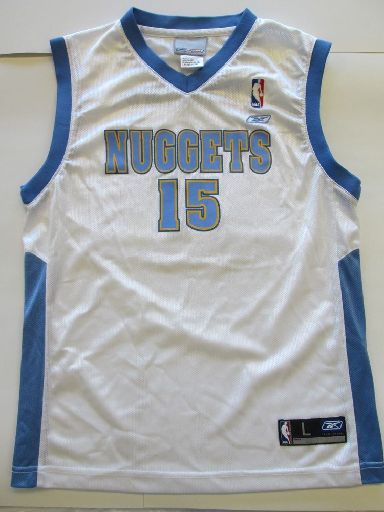 huge discount dcf1c 78731 NBA Carmelo Anthony #15 Denver Nuggets Jersey by RBK, youth ...