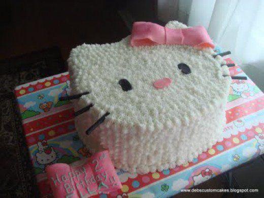 How To Make Your Own Hello Kitty Cake Hello kitty cake Kitty
