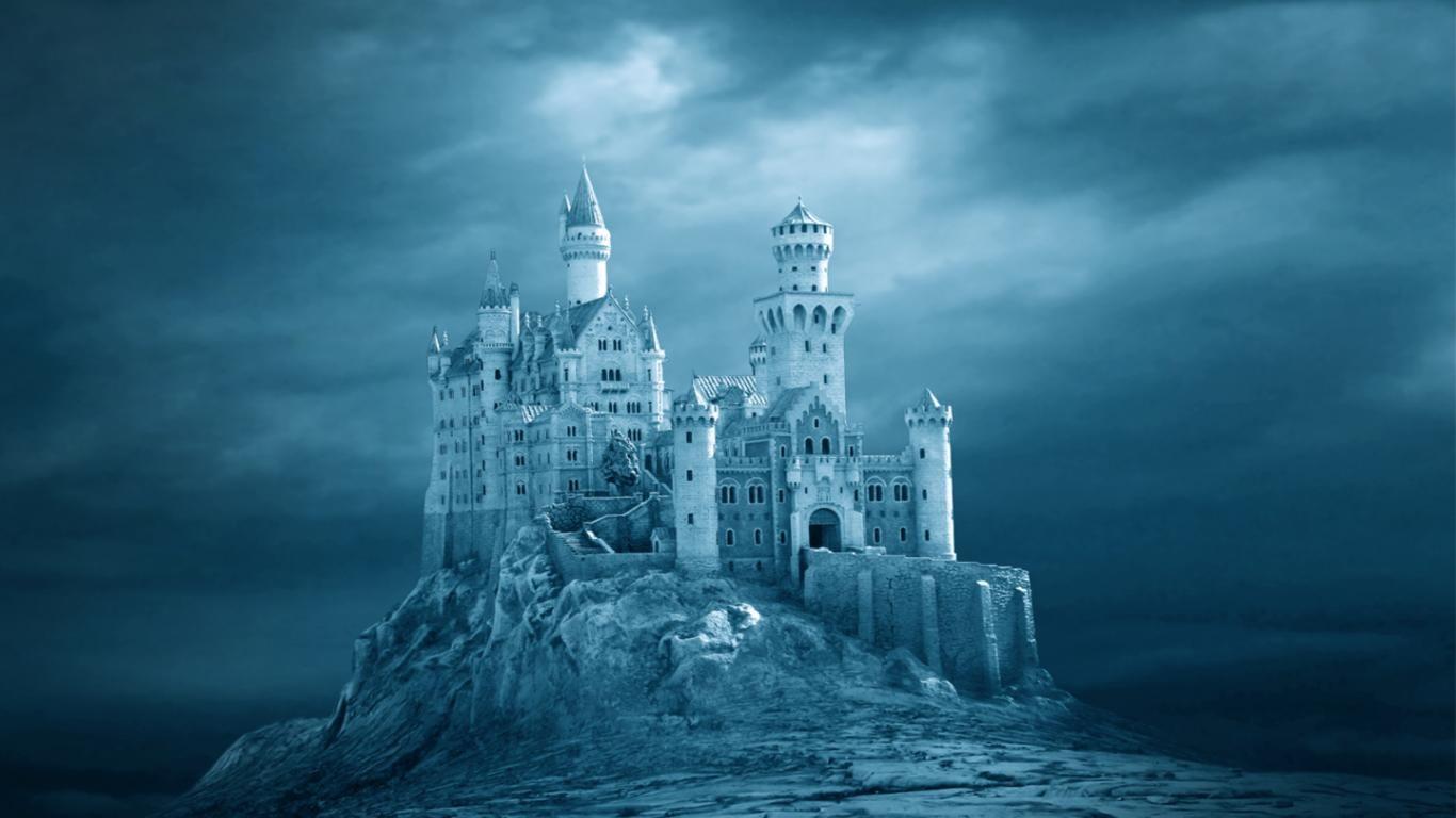 Romantic Castle Wallpaper | ... wallpaper/old-castle-around-the-world/magic- castle-49977,1366x768