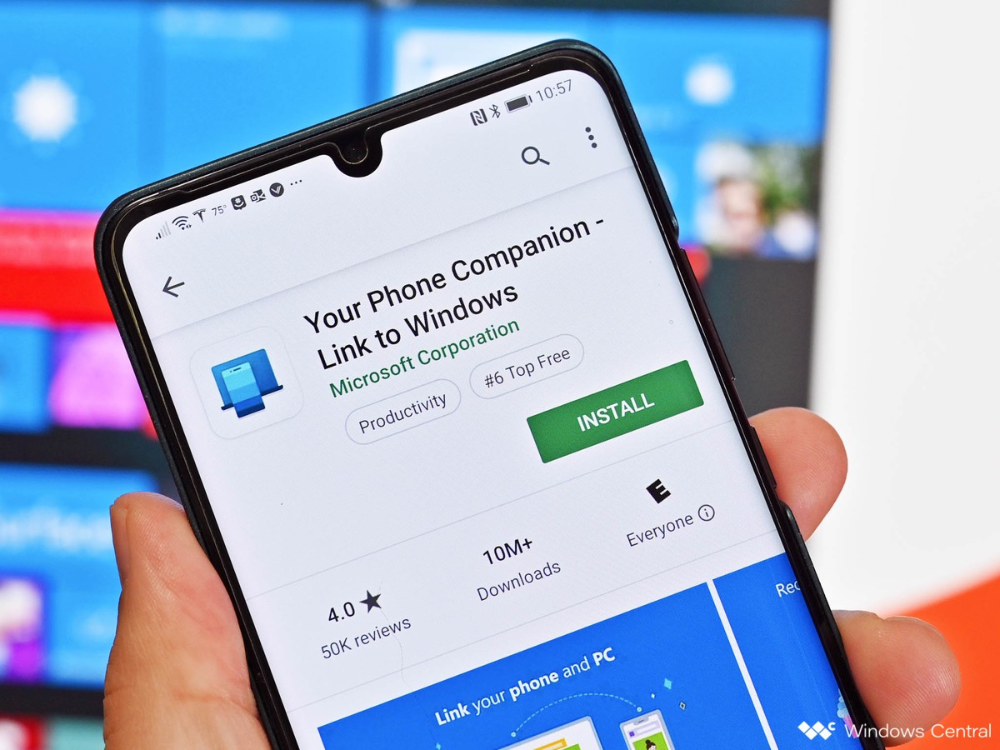 Your Phone's calling feature seems to be available for