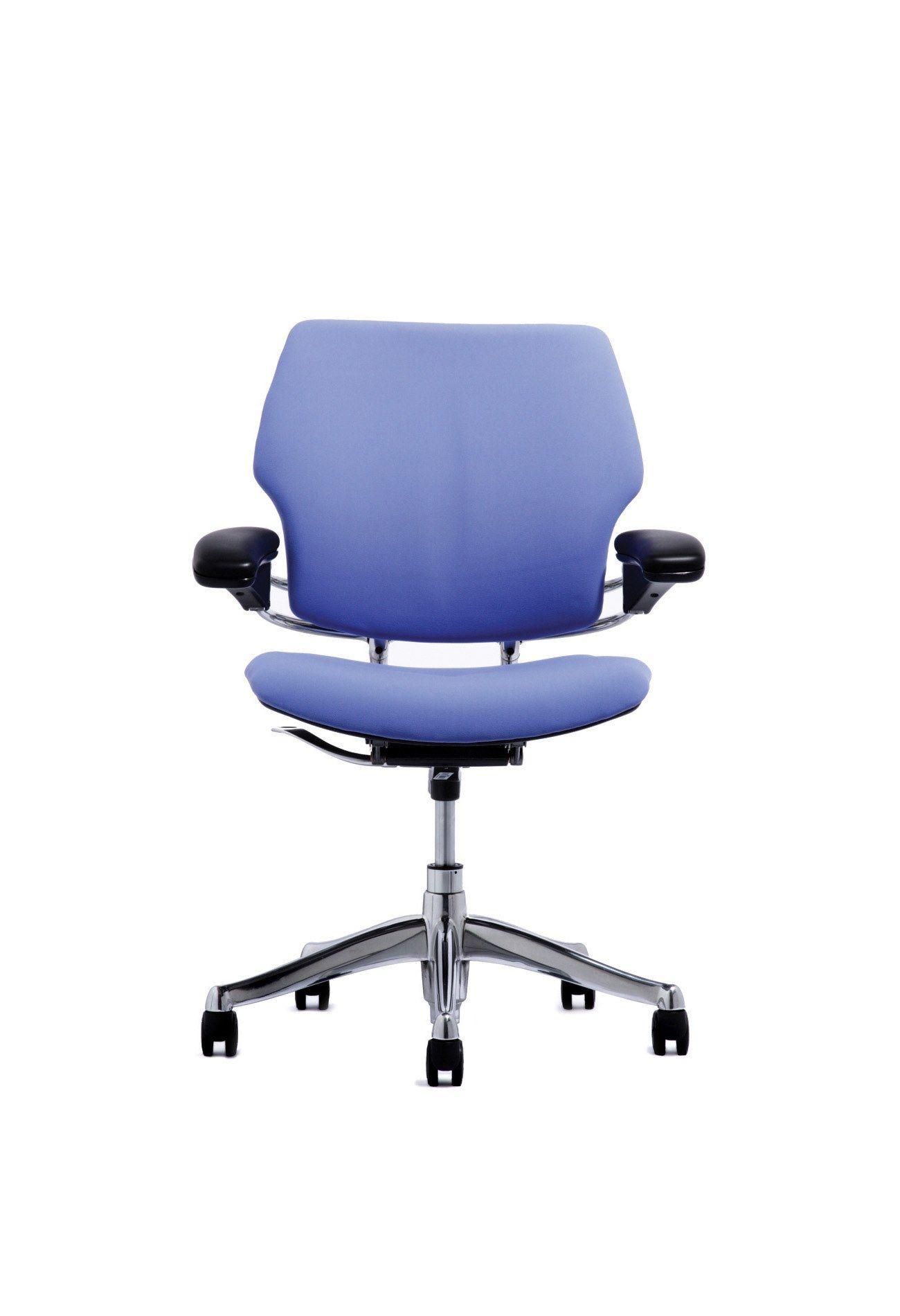 Humanscale freedom task chair blue chair task chair