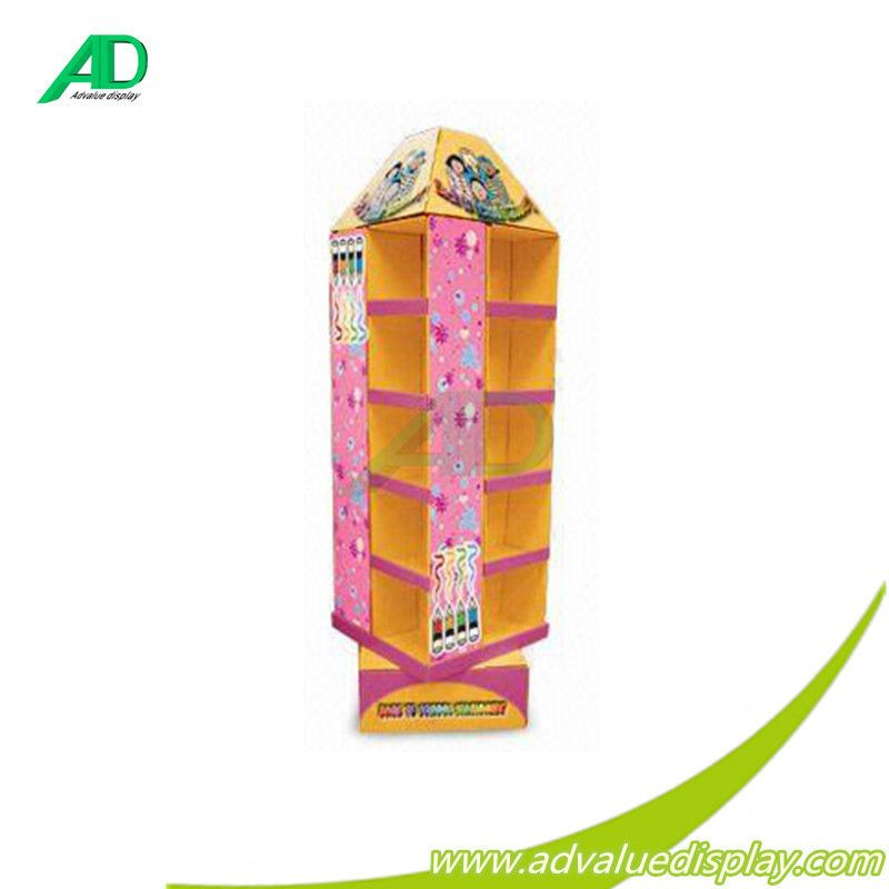 Supermarket Promotional Corrugated Cardboard Display/POP Up Display Stand/Promotional Cardboard Pallet Display Rack, View recycle cardboard pallet display, ADvalue Product Details from Shenzhen Advalue Display Co., Ltd. on Alibaba.com