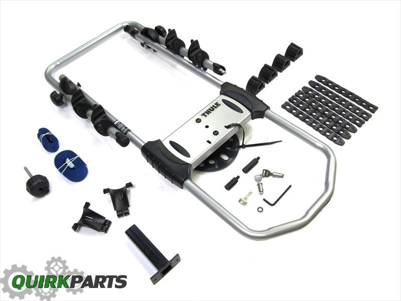 97 17 Jeep Wrangler Liberty Rear Spare Tire Bike Rack Thule Mopar