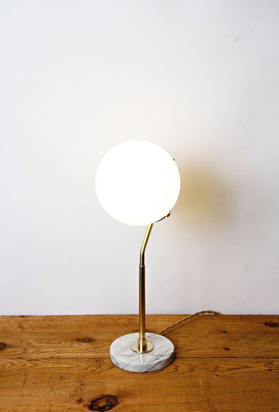 Thalia Lampe De Table Lampes De Table Laiton Et Lumiere De Lampe