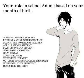 Are You Paying Attention Anime Funny Anime Zodiac Birthday Scenario
